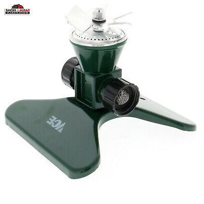rotating 360 sprinkler metal new