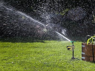 Solar Power Water Animal Dog Repellent Sprinkler