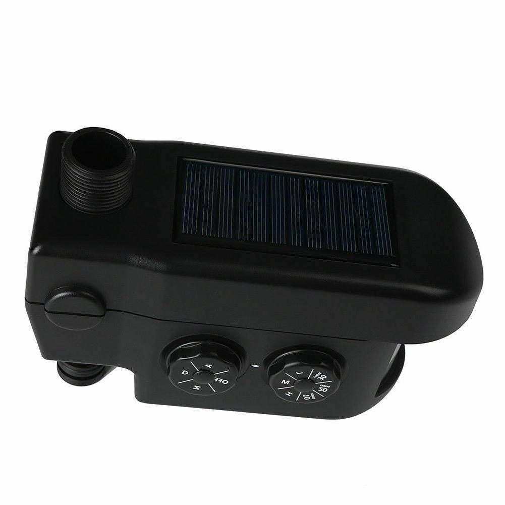 Solar ScareCrow Motion Activated Water Animal Repellent Deterrent Sprinkler BS