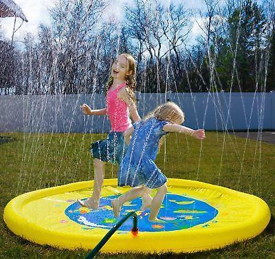 sprinkle splash play mat toy
