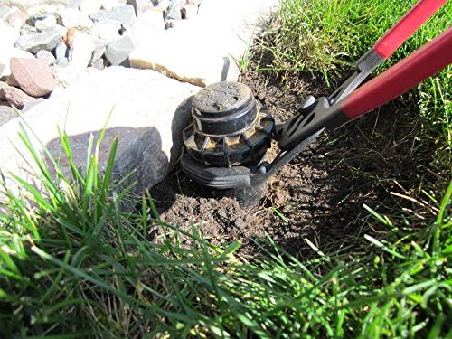 KEYFIT Head The Fastest Versatile Way to & Adjust w/no Digging Mess. Works Brands of Spray Heads, Rotor Heads &