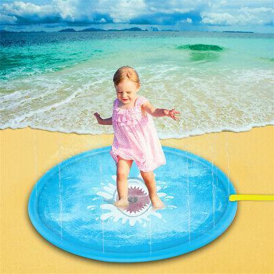 Sprinkler Water Play Toddler Toy Fun Game Mat