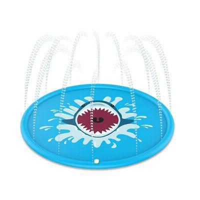 Sprinkler Water Pad Play Baby Toy Summer Mat