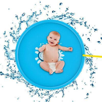 Sprinkler Splash Water Pad Play Baby Toddler Toy Summer Fun Game Mat