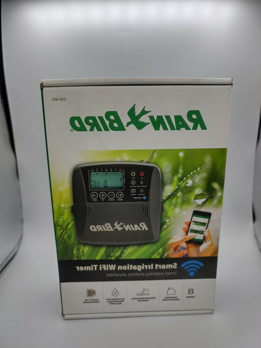 Rain 8 Zone Irrigation Wi-Fi Timer Controller