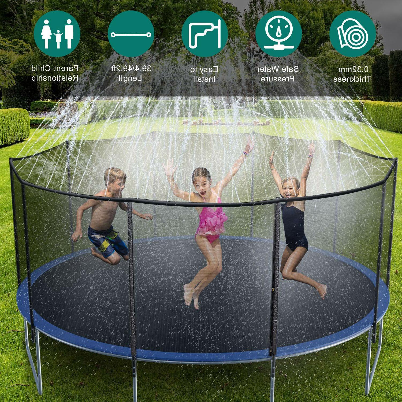 39ft/49ft Trampoline Kids Summer Toy Fun Waterpark