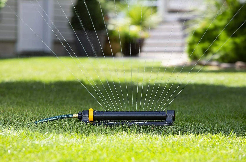 Turbo Oscillating Sprinkler Watering