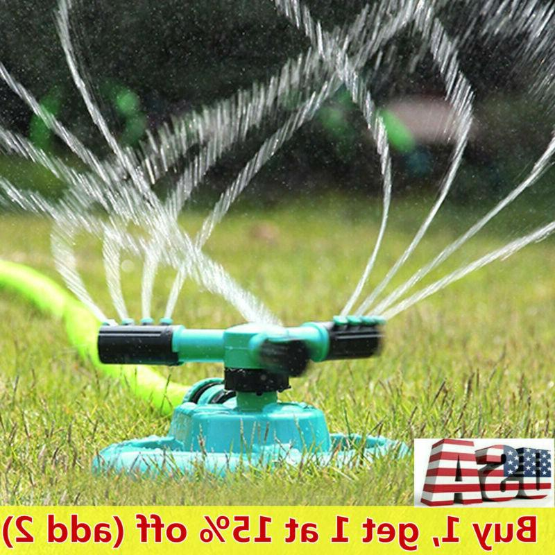 us 360 rotating sprinklers lawn automatic watering