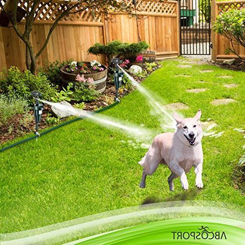 Activated Sensor Sprinkler Ultra Humane Way of Wild Animals Dogs, Birds, Etc. – Effective Sprinkler –