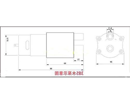 Actmei Water Pressure 12v Series Pumps for Water Sprinkler