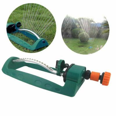 Oscillating Lawn Sprinkler Adjustable Watering Garden Yard W
