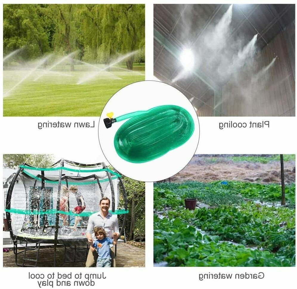water sprinkler for trampoline garden lawn misting