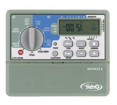 water timer electric 4 station