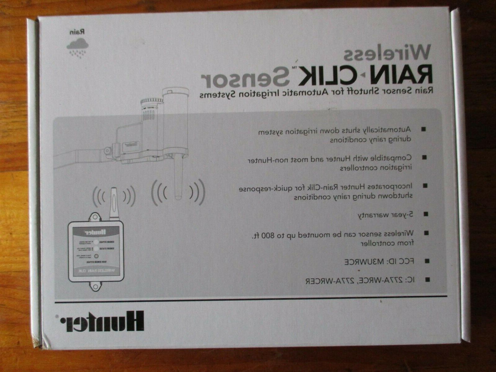 wireless rain clik weather sensor wr clik