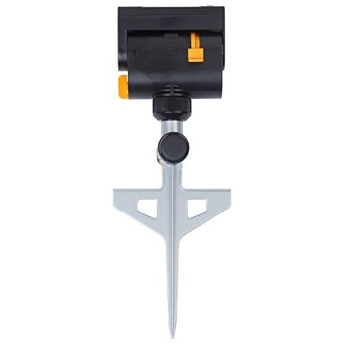 Melnor Mini-Turbo Sprinkler on Spike with One Touch Width Control and waters to 3,900 sq.ft.