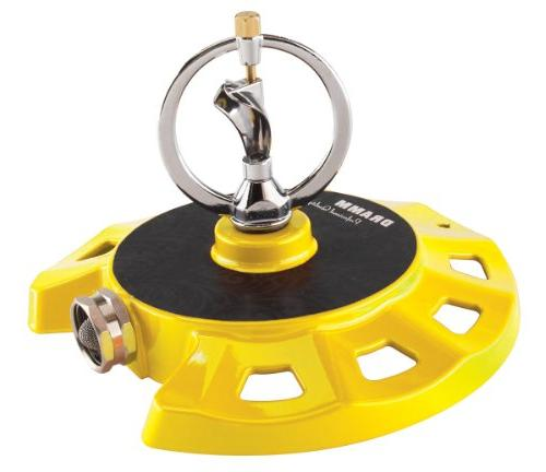 yellow colorstorm spinning sprinkler