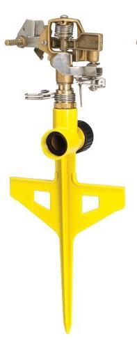 DRAMM Yellow ColorStorm? Stake Impulse Sprinkler