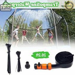 Landrip Trampoline Sprinklers for Kids, Outdoor Water Play S