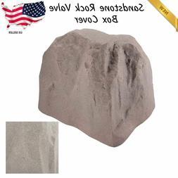 Landscape Rock Boulder Fake Stone Sprinkler Valve Box Cover