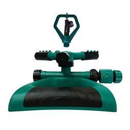 Growson Lawn Sprinkler,Garden 360°auto Rotary Sprinkler, Ya