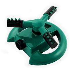 Flantor Lawn Sprinkler, Durable Rotary Three Arm Water Sprin