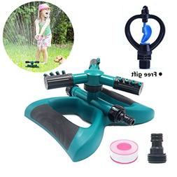 Lawn Sprinkler Automatic 360 Rotating Adjustable Garden Wate