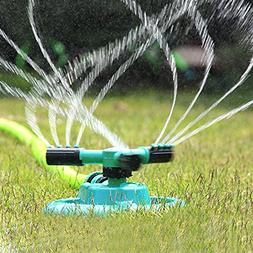 Lawn Sprinkler, UNIFUN Garden Sprinklers Water Entire Lawn A