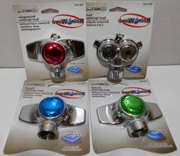 Lot of 4 Rainwave Spot Sprinklers Circular , Twin , Square ,