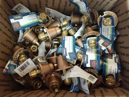 Lot of 57 Orbit All Brass Pop-up Sprinklers NWT  FREE SHIP!