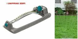 Metal Adjustable Oscillating Sled base Lawn Sprinkler Spray