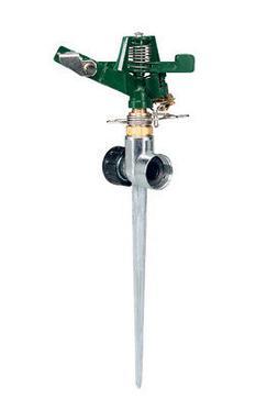 Orbit Metal Impact Sprinkler Head on Spike Base