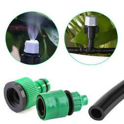 Micro Drip Irrigation Kit Garden Sprinkler Plant Watering Mi