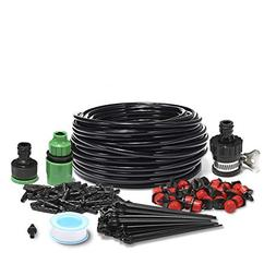 KINGSO 82ft Micro Drip Irrigation Kit System Blank Distribut
