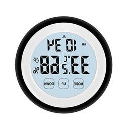 Mini Indoor Temperature Humidity Monitor Digital Hygrometer