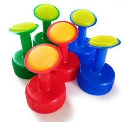 Mini Sprinkler Watering Cap Nozzle Use Soft Drink Bottles 6/