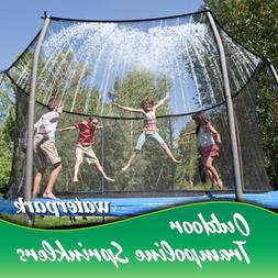 N/C Trampoline Water Play Sprinklers for Kids, Boys Girls Fu