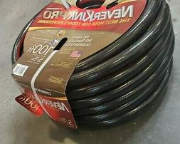 Teknor Apex Neverkink, 8844-100, PRO Water Hose, 5/8-in x 10