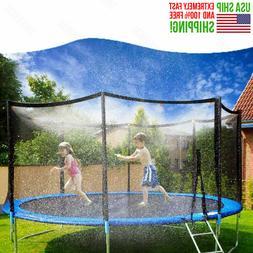 NEW 50FT Trampoline Waterpark Sprinkler Outdoor Kids Water P