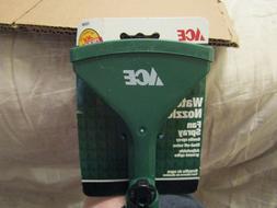 New Ace Garden Hose Fan Spray Water Nozzle Sprinkler w/Set S