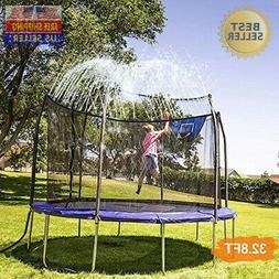NEW! INMUA Trampoline Sprinkler, Outdoor Water Play Sprinkle