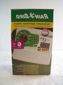 New Rain Bird ISM-6 Automatic Sprinkler Timer 6-Valve Indoor