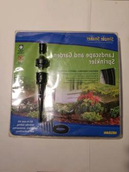 New Nelson Simple Soaker Landscape & Garden Sprinkler Lawn G