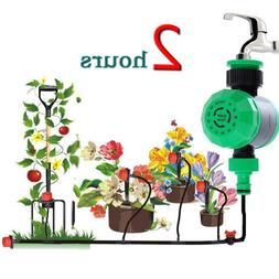 New Mechanical 2 Hours Timer Garden Control Irrigation Syste