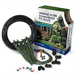 New - Micro Sprinkler Landscape & Shrub Kit - Covers 250 Squ