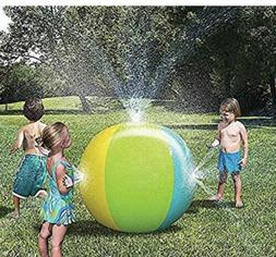 "New Discovery Outdoor Inflatable Water Play 32"" High Sprinkl"