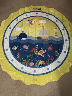 HITOP Kids Ocean Spray Pool 3-in-1 Sprinkler Pool for Babies