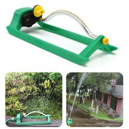 Oscillating Lawn Sprinkler Automatic Watering Garden Pipe Ho