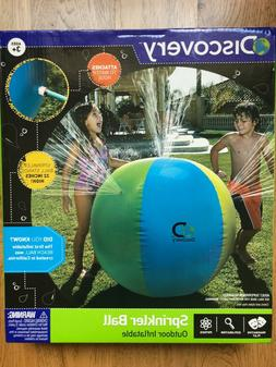 """Discovery Outdoor Inflatable Water Play 32"""" Sprinkler Ball 3"""