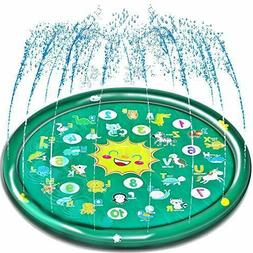 Outdoor Kids Splash Pad Toys for Toddlers, Outside Baby Spri