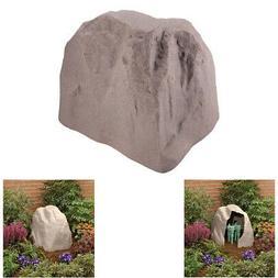Outdoor Landscape Rock Boulder Fake Stone Sprinkler Valve Bo